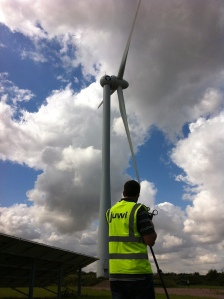 Anthony's shot at Juwi Renewable Energies