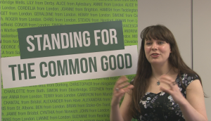 Amelia Womack, Deputy, The Green Party