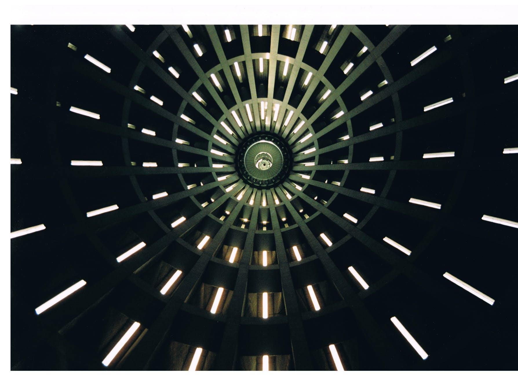 building dark lights perspective